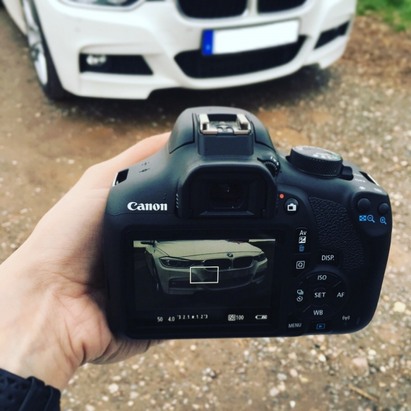 Canon Eos at work